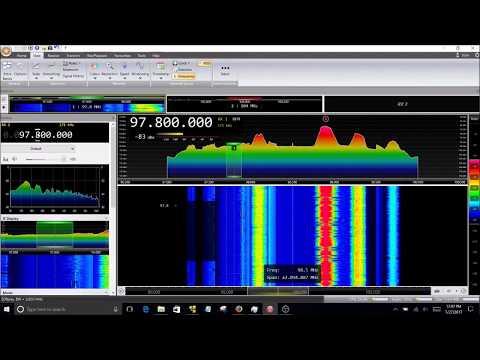 San Diego FM Radio Band Scan
