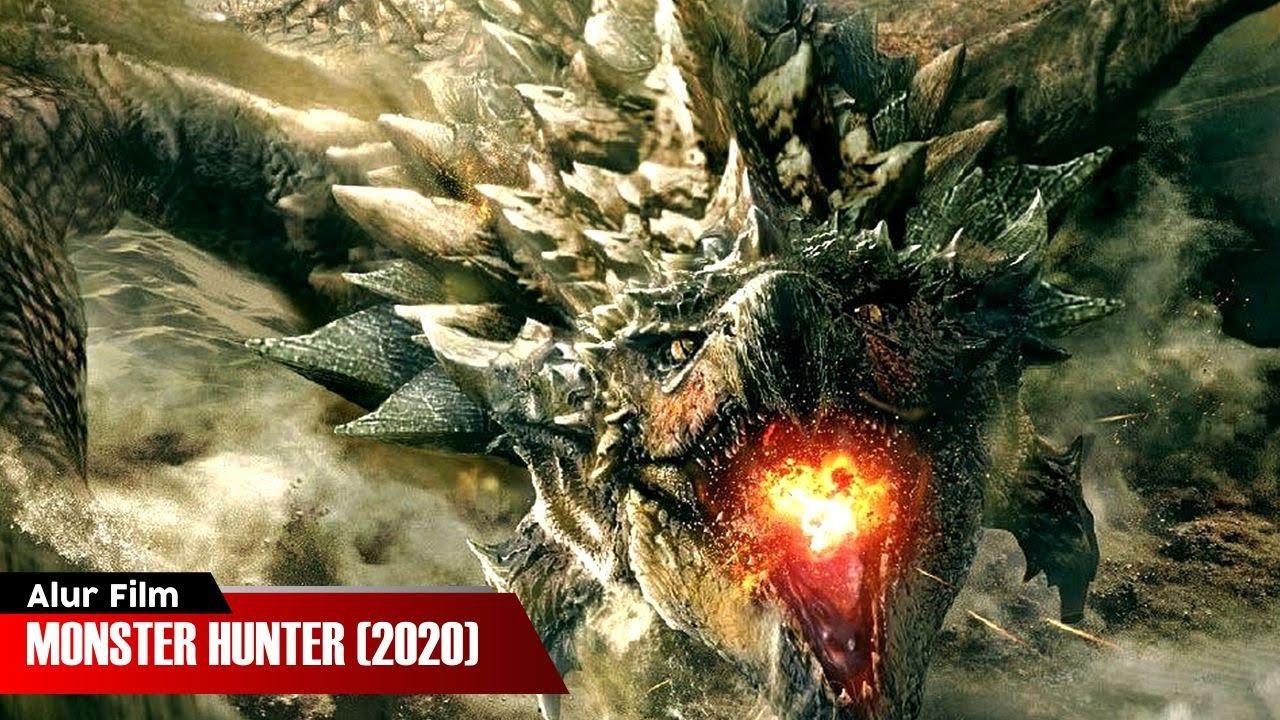 Download MELAWAN MONSTER NAGA PENJAGA PORTAL ANTAR DIMENSI | ALUR CERITA FILM MONSTER HUNTER (2020)