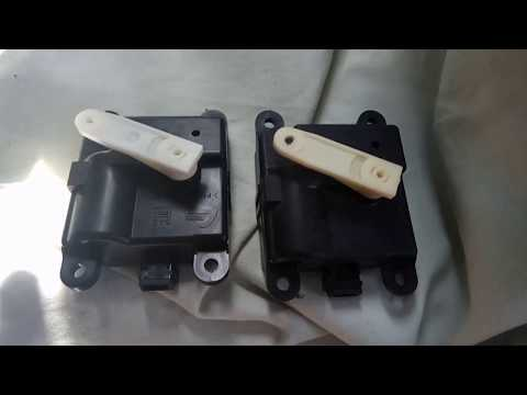 Mode Actuator Installation In 2001 Nissan Pathfinder