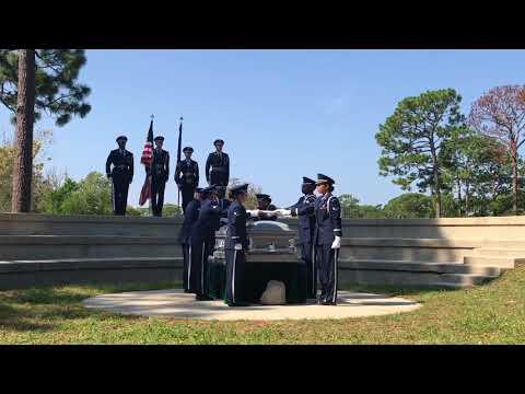 Eglin Air Force Base honor guard – team 17 C graduation