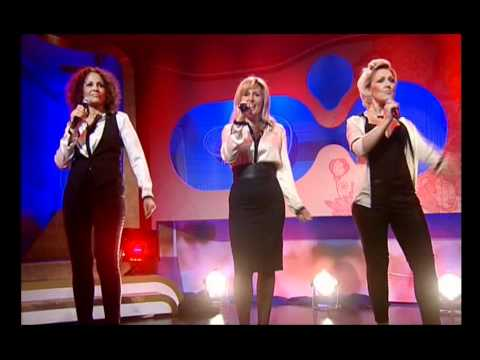 Woman the band singing W O M A N on Loose Women
