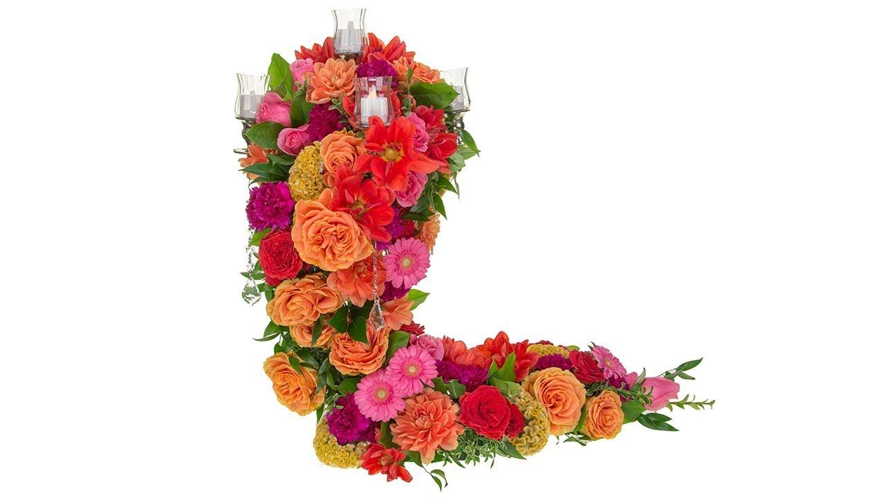Candelabra Wedding Centerpiece - YouTube