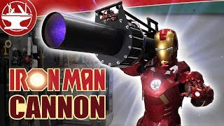 Testing Iron Man's Vortex Cannon! (World's Largest Leafblower)