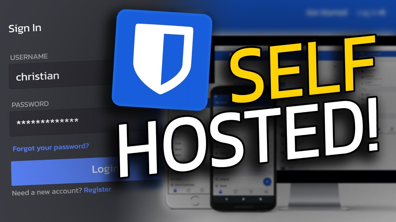 Self Hosted Password Manager 🔒 - Your data under your control!