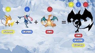 Pokemon Fusion Requests #81: Greninja + Charizard + Raichu