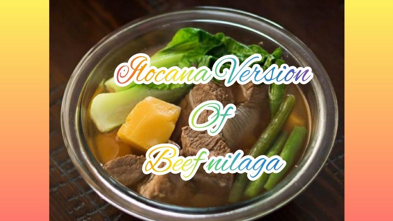 Ilocana Version (Beef Nilaga)