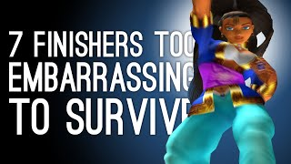 7 Humiliating Fighting Game Finishers Too Embarrassing to Survive