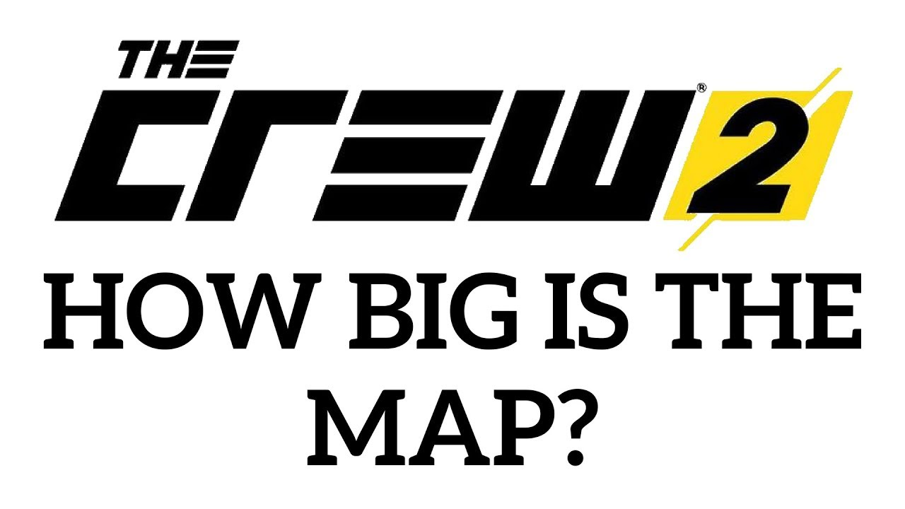 HOW BIG IS THE MAP in The Crew 2? Drive Across the Map