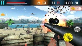 Shoot War Gun Fire Defense Android Gameplay (HD)