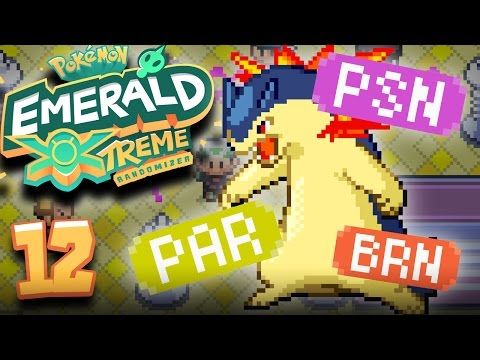 TODAY WAS NOT A GOOD DAY TO RECORD! (Pokemon Emerald Extreme Randomizer #12)