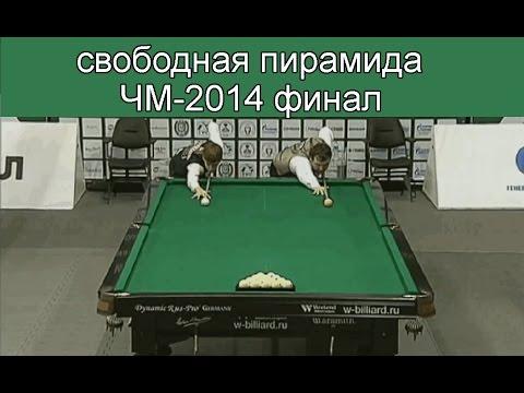 Свободная пирамида ЧМ 2014 Финал Крыжановский - Паламарь