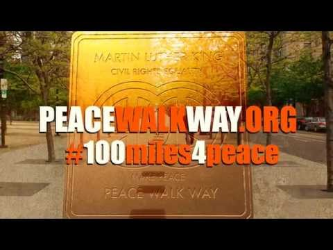 100miles4peace World's largest Peace Monument Ever, Underway