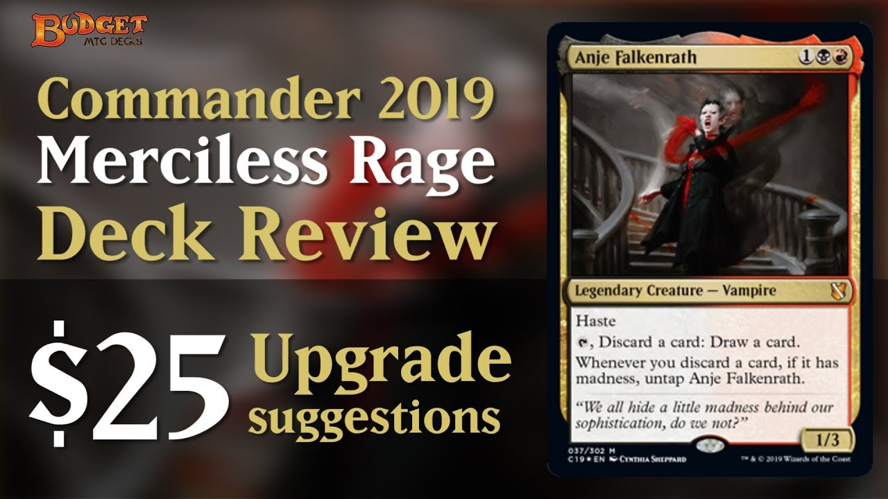 C19 Merciless Rage: Review and Upgrades by Budget MTG Decks