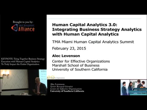 Integrating Business Strategy Analytics with Human Capital Analytics