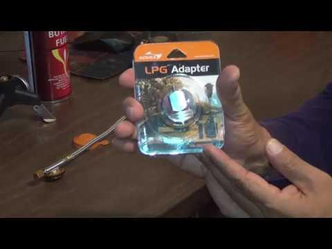 Prepper's LPG Adapter to Butane Stove