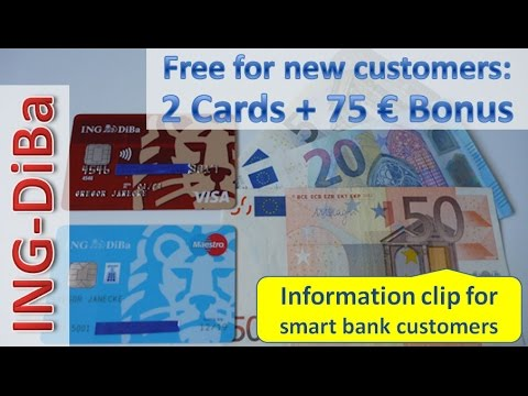 Ing Diba Cash Cards In An Overview