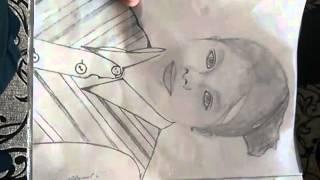 видео урок как научится рисовать портреты(, 2016-03-13T10:09:22.000Z)