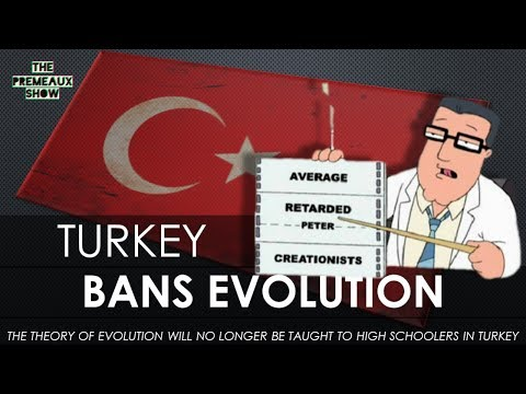Evolution will no longer be taught in Turkey