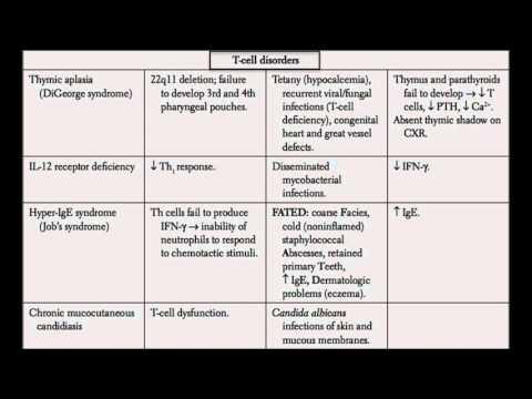 USMLE Immunology Part 8 I Immunodeficiency Disorders