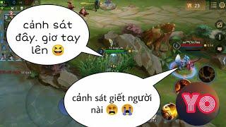Troll Game _ Team Địch Thái Độ Với Cảnh Sát Bò Và Cái Kết Sấp Mặt | Yo Game
