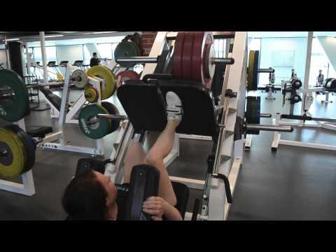 Brooke Lochland training for Olympic dream