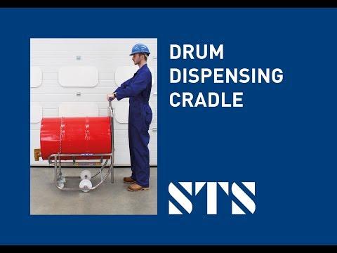 STS - Drum Dispensing Cradle (DCR01) Drum Dispenser, Oil Drum Pouring