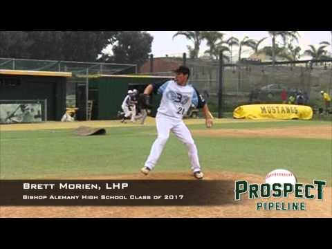 Brett Morien, LHP, Bishop Alemany High School, Pitching Mechanics at 200 FPS
