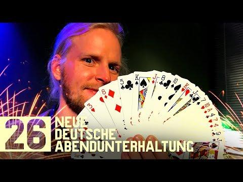 Wie wird man Zauberer? Weltmeister Jan Logemann zeigt's Gunnar, Tomas Tulpe live | NDA#26