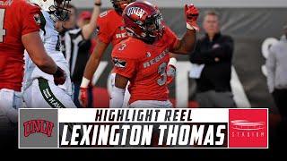 Lexington Thomas UNLV Football Highlights - 2018 Season | Stadium