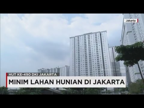 Minim Lahan Hunian di Jakarta