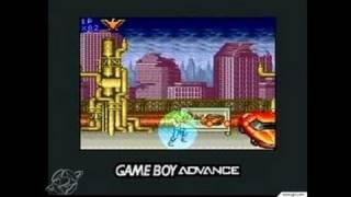 Contra Advance: The Alien Wars EX Game Boy