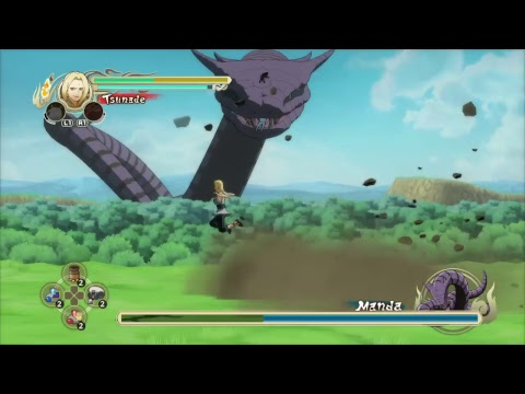 Naruto Ultimate Ninja Storm(Remastered) Gameplay