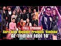 """Ranveer Singh"" & ""Sara Ali Khan"" Promote ""Simmba"" on ""Indian Idol 10"" | Rohit Shetty"