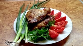 Цыпленок табака  Простой  рецепт из СССР