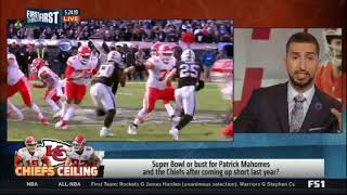 First Things First | Super Bowl or bust Patrick Mahomes and Chiefs after coming up short last year?