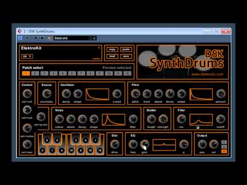 DSK SynthDrums  by DSK Music