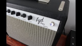 "FYD Amps, ""Big Verb"", Five Watt Super Reverb"