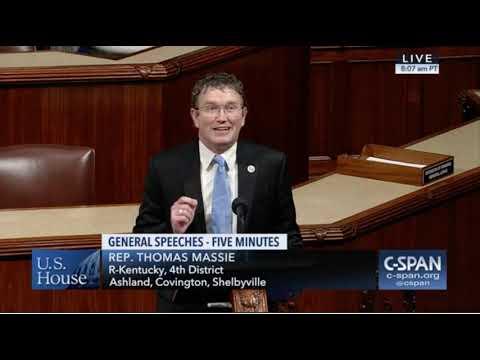 Congressman Thomas Massie Floor Speech on Yemen Resolution