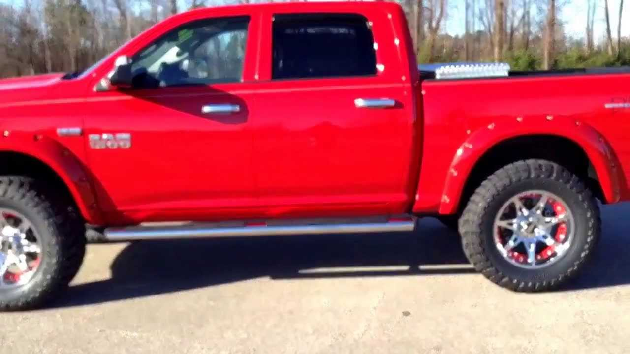 2014 red ram truck upfitted by down east offroad - Dodge Ram 2500 2014 Red