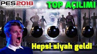 TÜM TOPLAR SİYAH OLDU!   PES 2018 TOP AÇILIMI