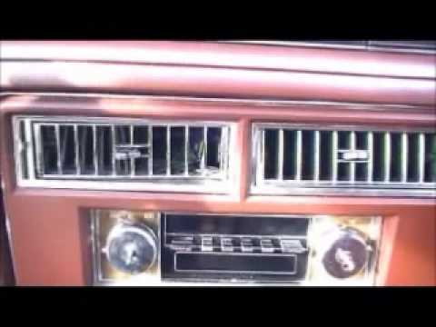 Radio Removal 1979 Coupe Deville