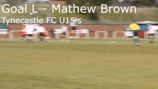 Jamie Skinner Goal of the Month (May) – Goal L, Mathew Brown
