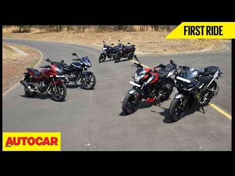 2017 Bajaj Pulsar Range | First Ride | Autocar India