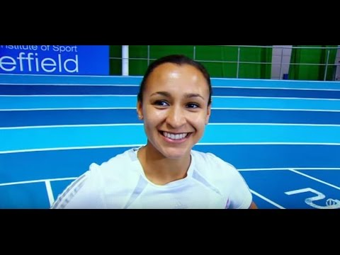 Young Jessica Ennis-Hill on Trans World Sport