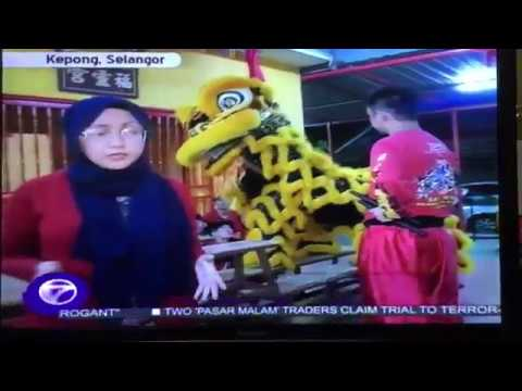 2017 NTV 7 News Lion Dance Interview - www.sheng-wai.com