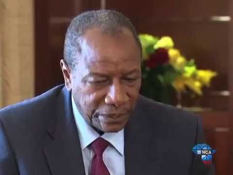 Guinea's president speaks out against corruption