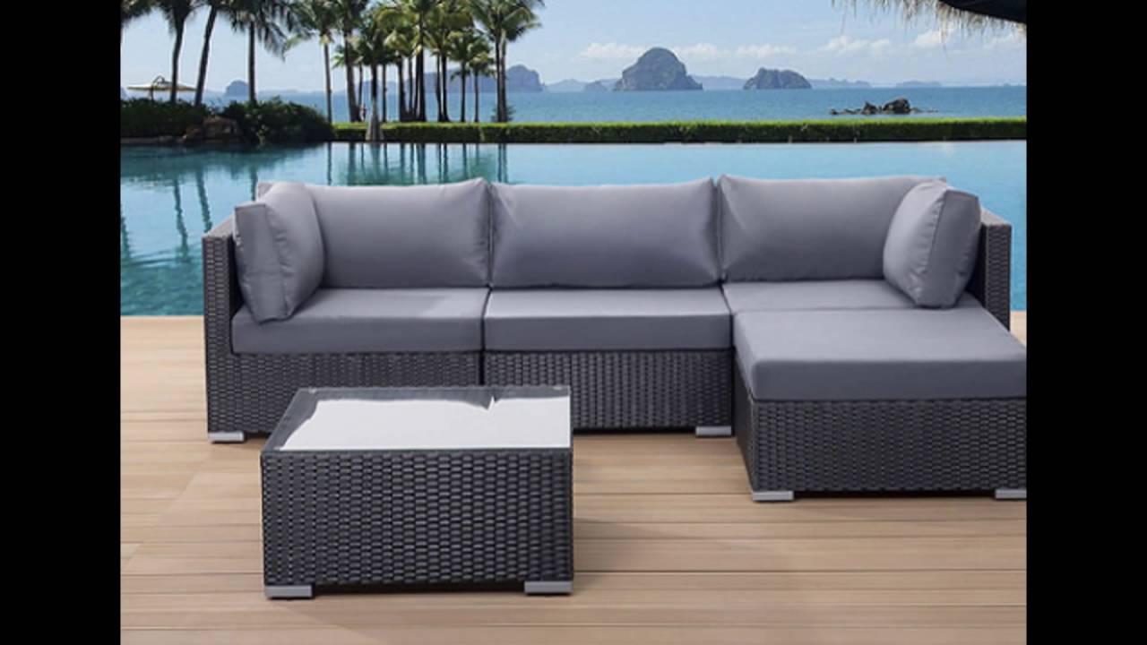 Superieur Sleek Outdoor Sofa