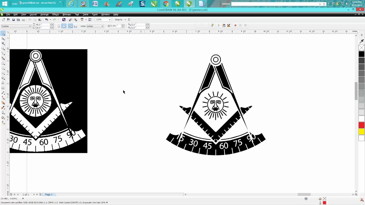 small resolution of corel draw tips tricks vector clipart turning clipart into a vector
