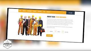 Titan Builders Construction WordPress Theme + Download