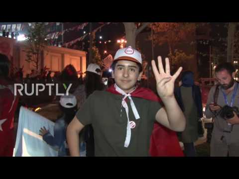 Turkey: Erdogan supporters celebrate referendum victory in Istanbul